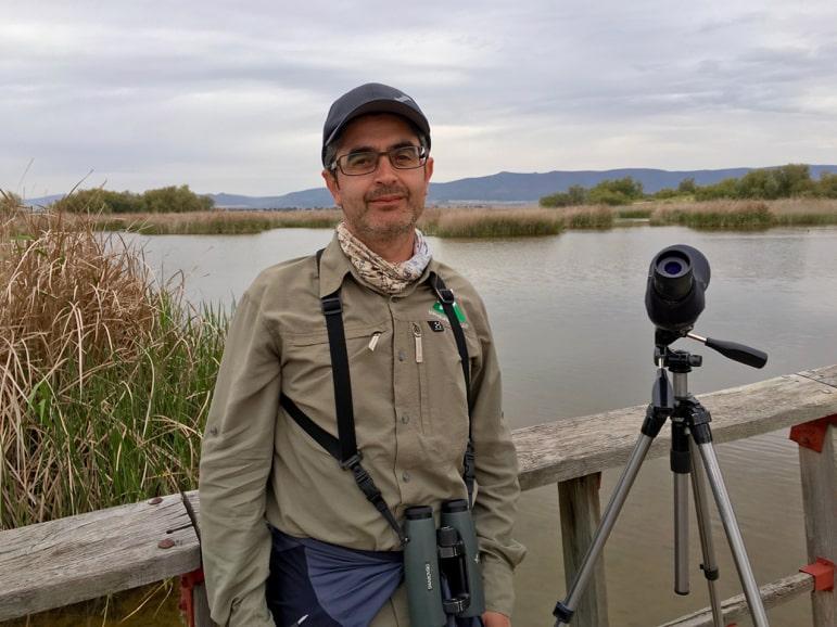 National park guide, Vincente, Tablas de Daimiel, La Mancha