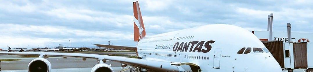 Qantas business class vs premium economy A380 review
