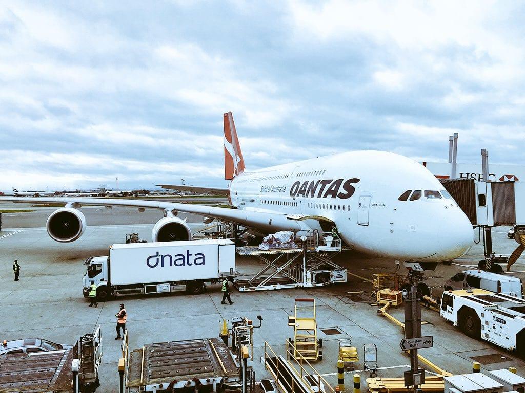 Review Qantas New Business Class Airbus A330  Travel Codex