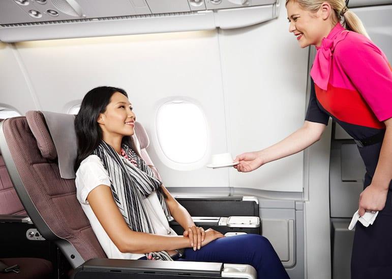 Qantas premium economy A380