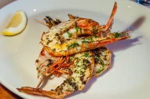 Rockpool Melbourne may be a steakhouse but it also has excellent seafood