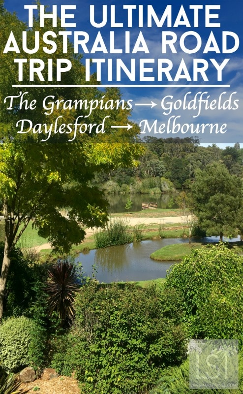 The Grampians National Park to the Goldfields, Daylesford and Melbourne, an Australia Road Trip