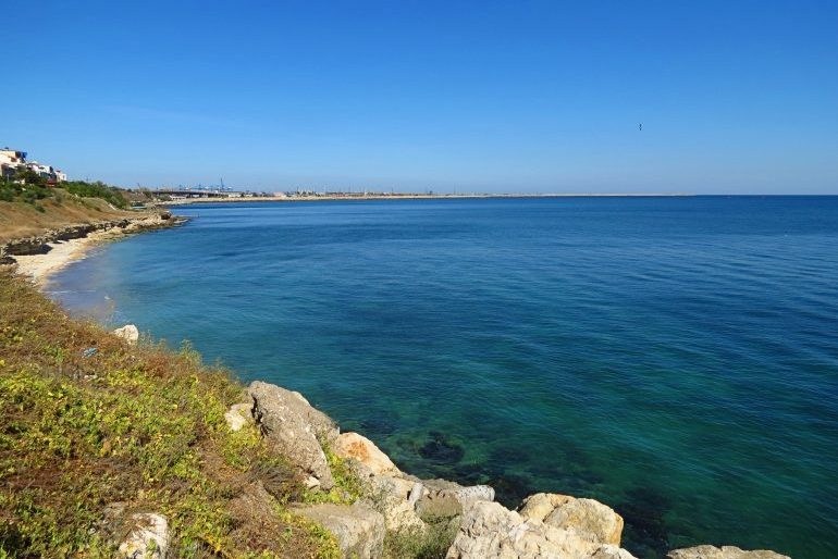 A view from Eforie Nord on the Black Sea coast of Romania Pic Alexandru Panoiu