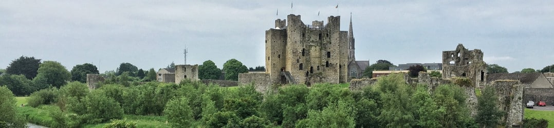 Castles in Ireland - Trim Castle
