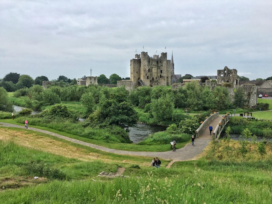 Castles in Ireland - Trim Castle