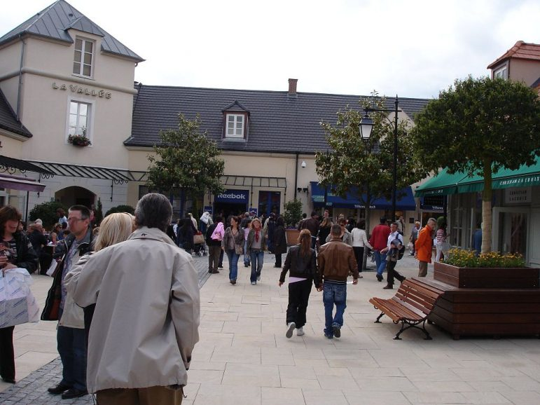Paris travel tips - for designer bargains visit La Vallee shopping outlet just 45 minutes from the centre of Paris