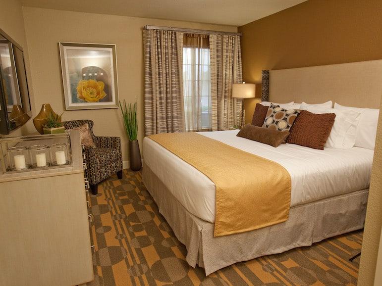 Bedroom at Holiday Inn Club Vacations at Desert Club Resort