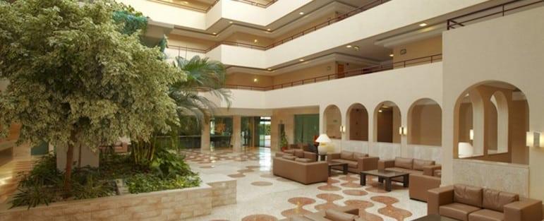 Lobby of the Forte De Oura