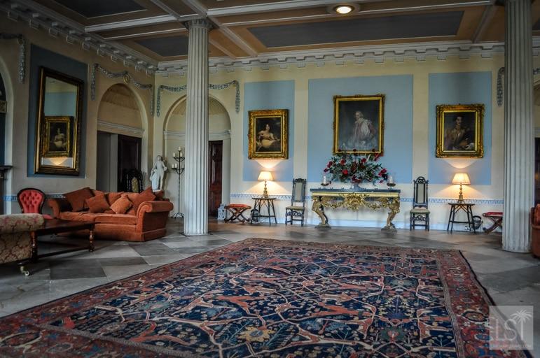 Lounge room at Slane Castle