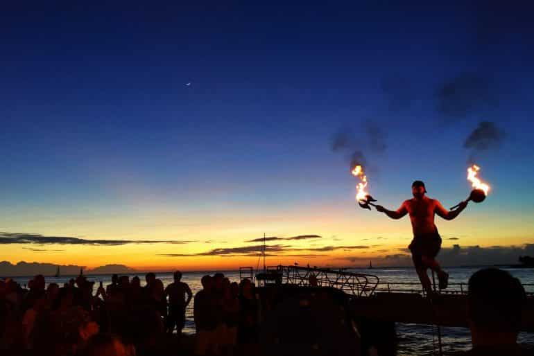 Mallory Square in Key West is a great spot for sunset and entertainment Pic Ines Hegedus-Garcia