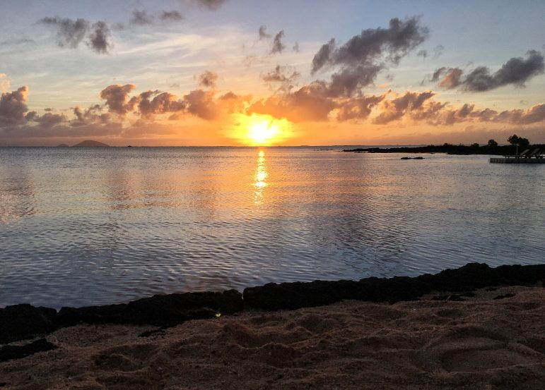 Sunrise is well worth getting up for in Mauritius