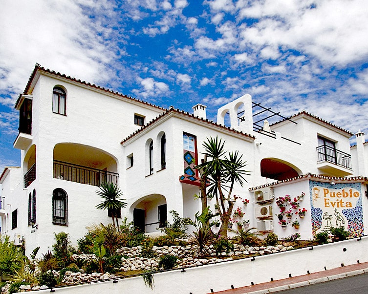 Pueblo Evita in Spain is Donna's home resort