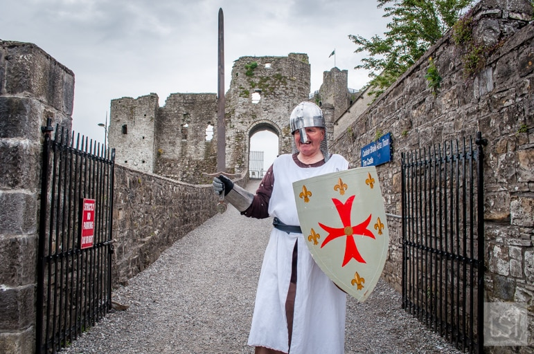 Sir Laughalot at Trim Castle