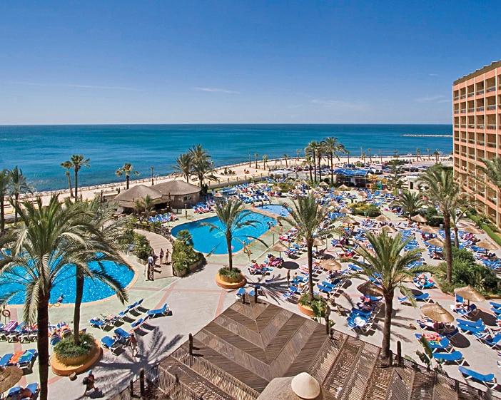 Holidays with RCI at Sunset Beach club pool