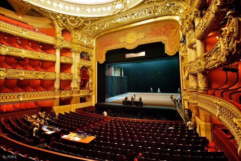 Paris travel tips - the opulent Palais Garnier in Paris offers great value tickets for the opera