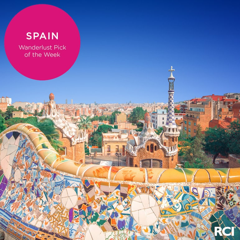 Park Guell is one of Barcelona's many attractions