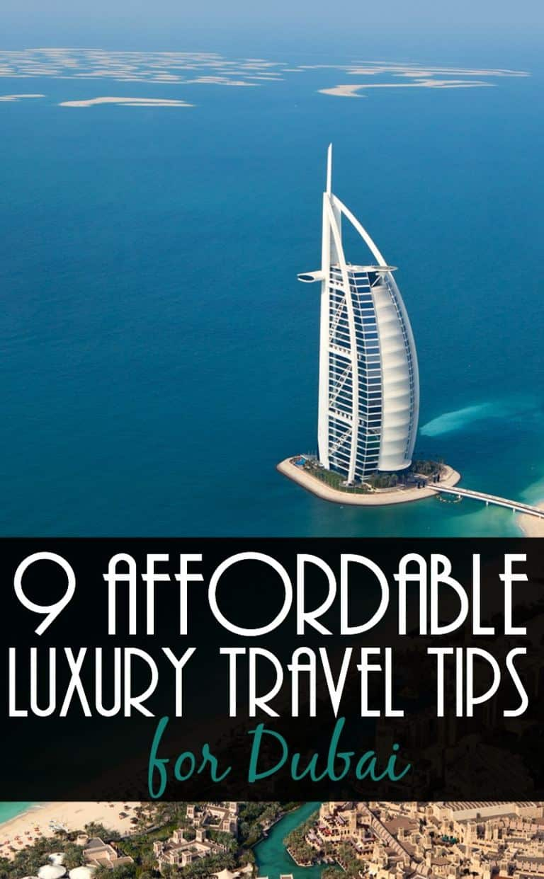 9 dubai travel tips for affordable luxury travellers for Luxury travel in dubai