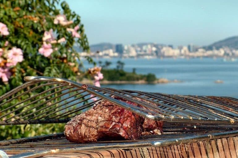 Best food in the world - churrasco is a popular meat dish in South America | Pic: SantaRosa Old Skool