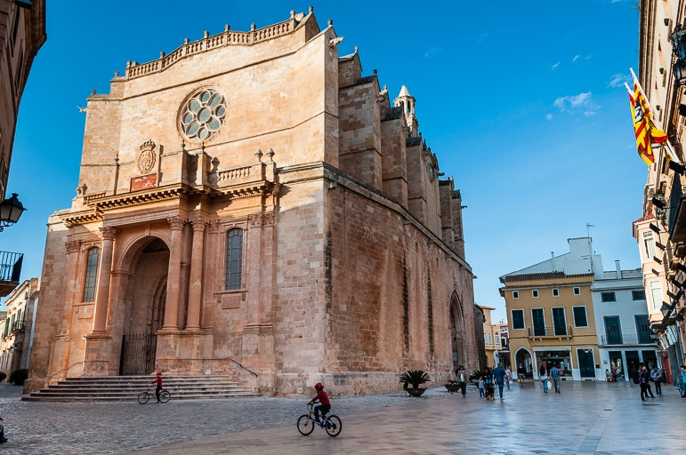 Ciutadella Cathedral was built on the foundations of a mosque, Ciutadella, Menorca