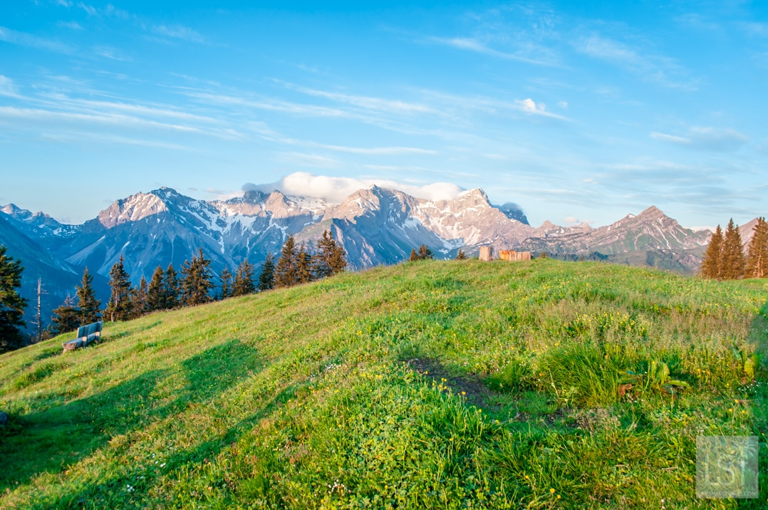 Mountain hiking in Austria for a spectacular sunrise reward