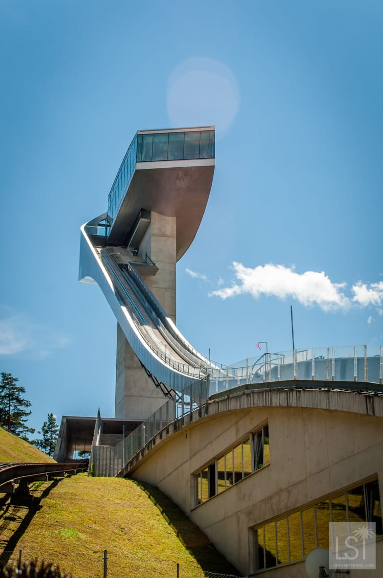 Things to do in Innsbruck, visit the Bergisel ski jump
