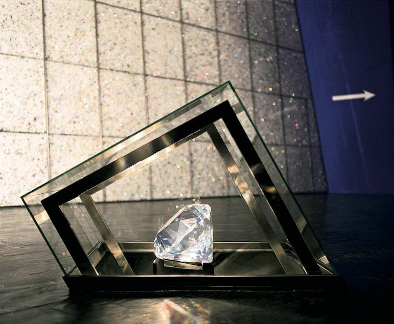 The Centenar crystal weighs 60 kilogrammes |pic: Swarovski Kristallwelten