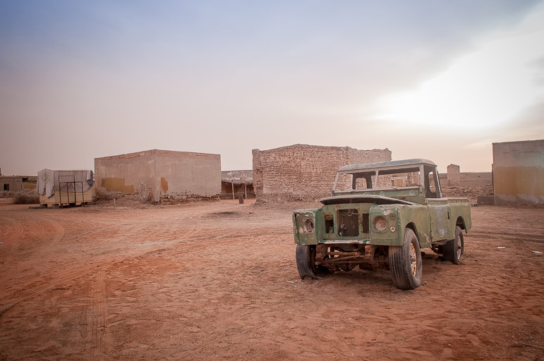 Holidays to Ras Al Khaimah should include a visit to the Ghost town in Al Hamra