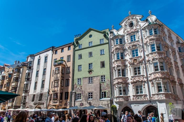 Innsbruck's old town