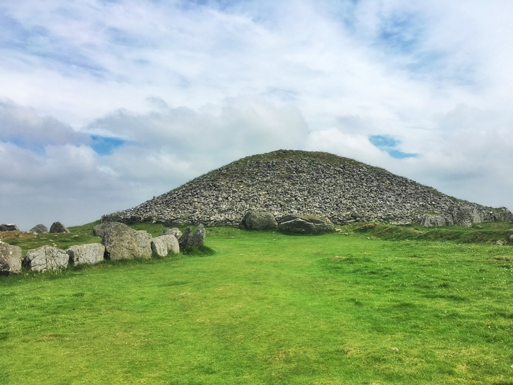 Loughcrew - an ancient cairn dating back to 4,000BC - gave me a sense of my early Irish heritage in Irleand's Ancient East