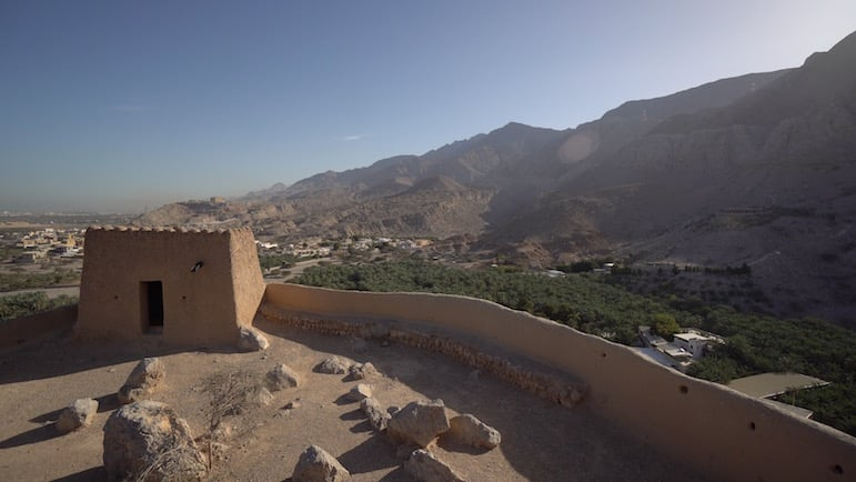 Places to go in Ras Al Khaimah - Dhayah Fort | pic: Brandon Li