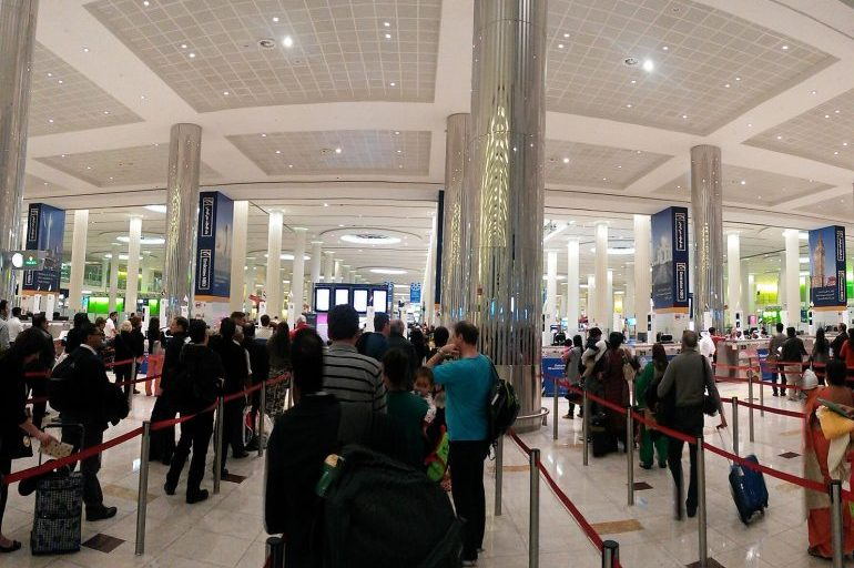 Skip the queues at Dubai airport and book meet and greet service Marhaba | Pic: Jollof Malt