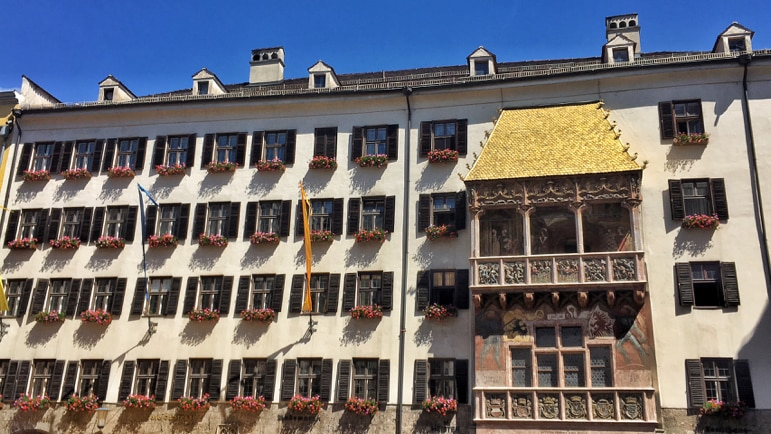 The Golden Roof in Innsbruck, Austria