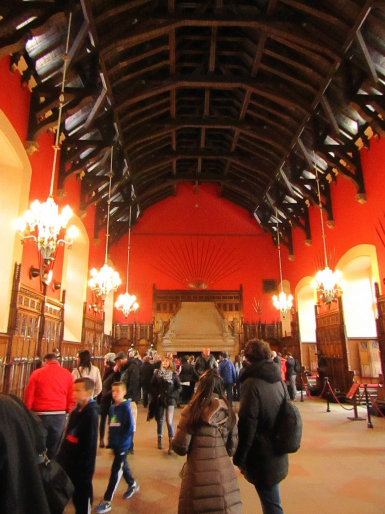 The Great Hall inside Edinburgh Castle is an amazing feat of design and architecture