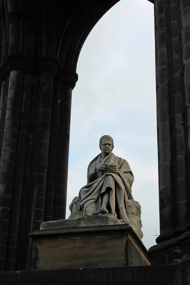 The Scott Monument dominates the Prices Street Gardens, dedicated to famous author Sir Walter Scott Pic Sarah Stierch