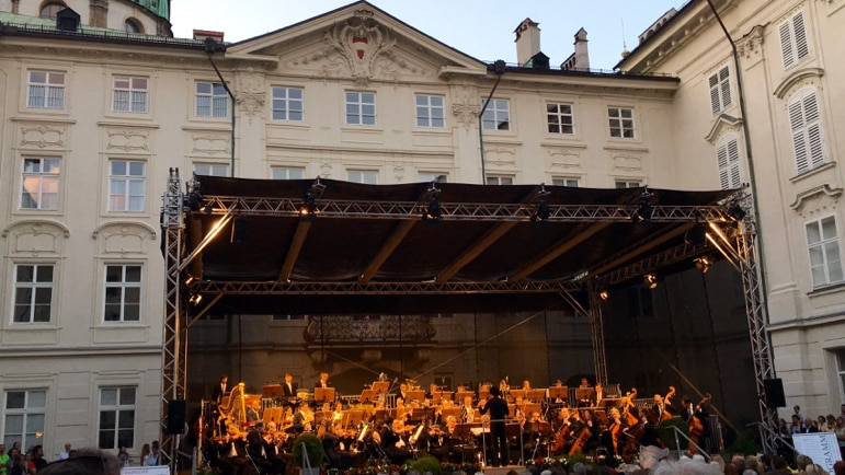 Things to do in Innsbruck - enjoy a summer promenade concert