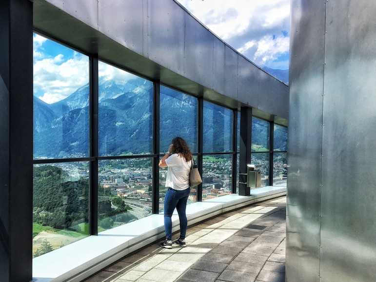 Things to do in Innsbruck - take in the view from Bergisel