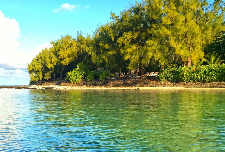 From forest covered islands to azure blue coral reefs, it was hard to get bored by the variety of backdrops in Mauritius