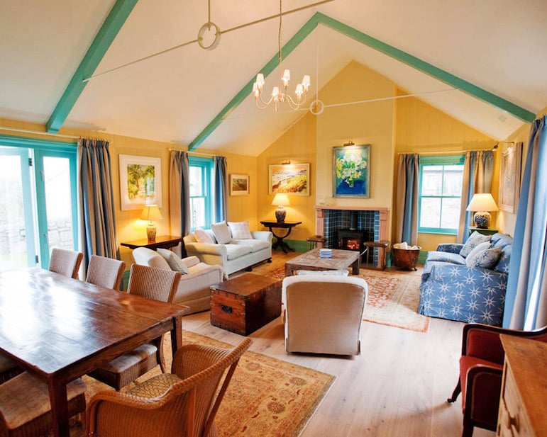 Luxury cottage Interiors, Tresco island