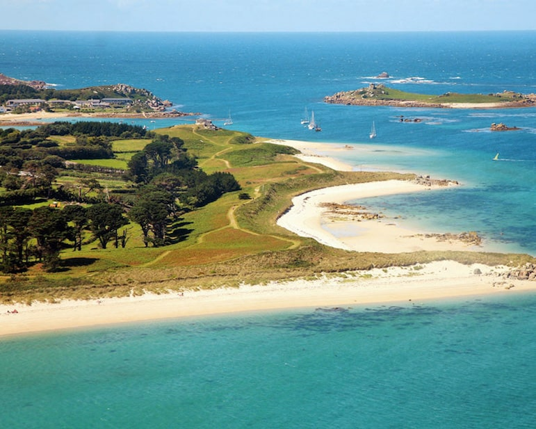 Beaches on Tresco Island