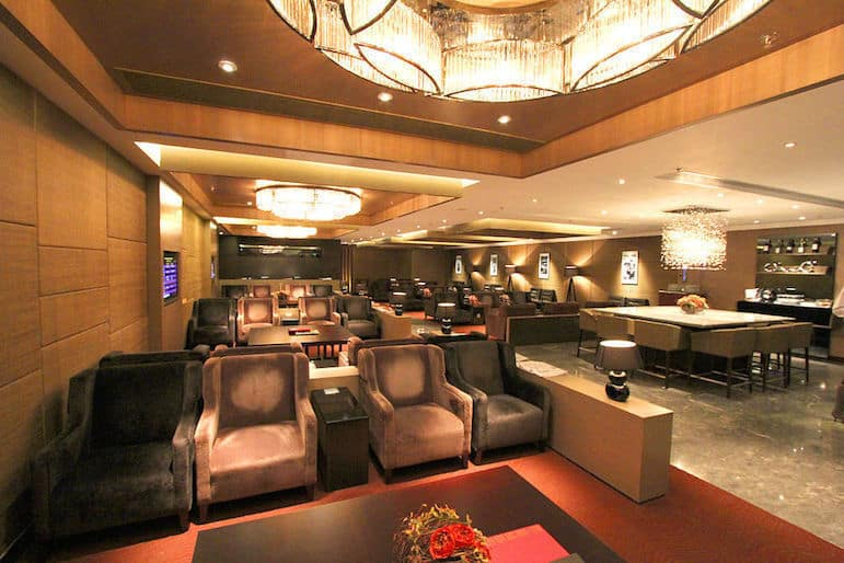 Airport lounges add a touch of luxury to your break | Pic Hayley 1029