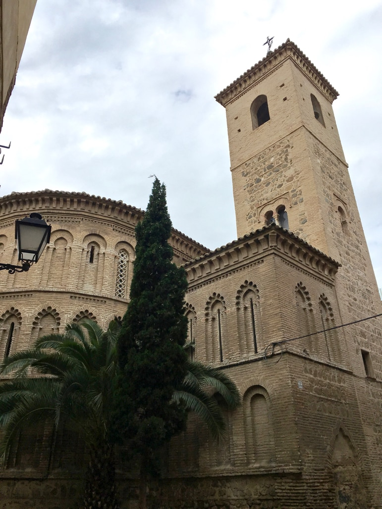 Church of El Salvador in Toledo, Spain - it was originally a mosque