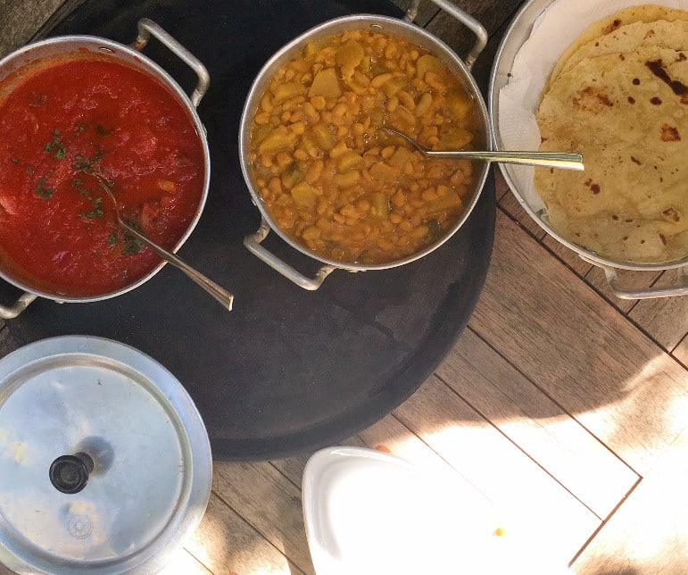 Things to do in Mauritius - learn to cook delicious Indian bread we were taught how to make at Otentik