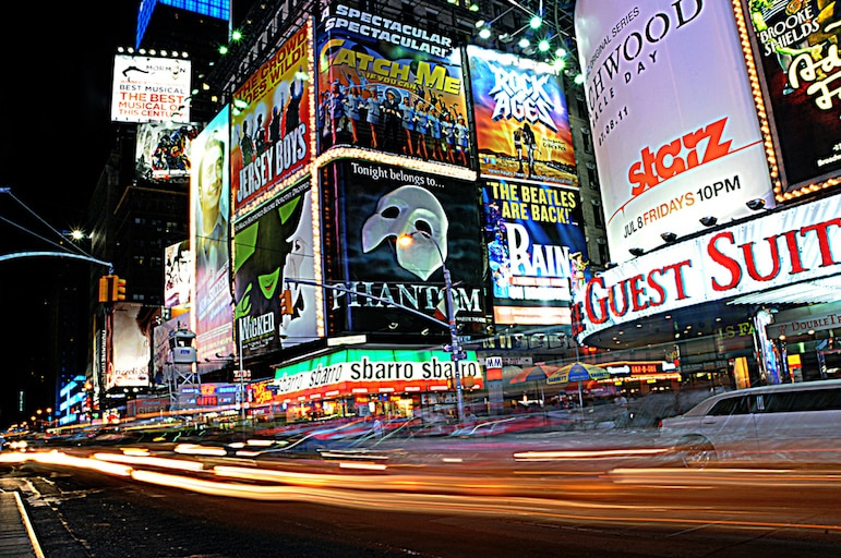 New York travel tips - get a great deal on theatre tickets for shows on Broadway | Pic: TimHaag