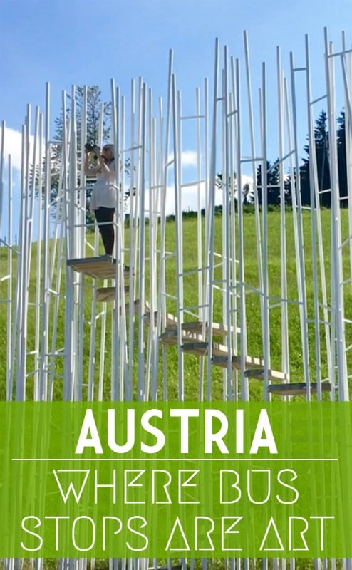 Hop on, hop off for unusual art and architecture in one of the quirkiest places to visit in Austria