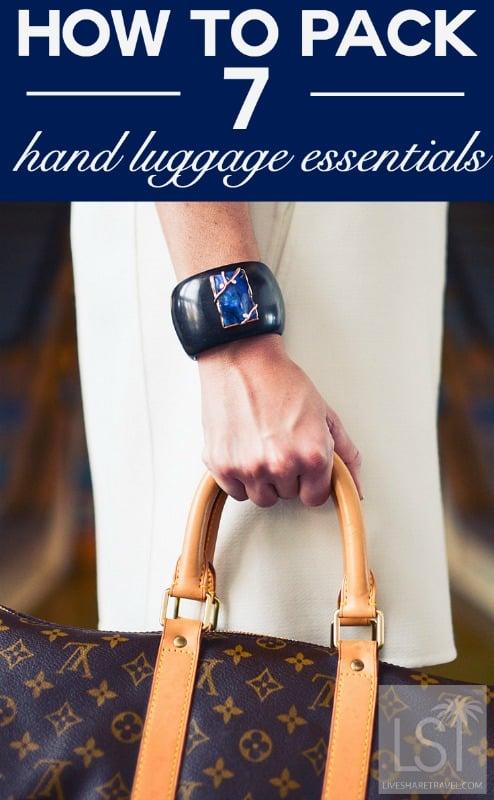 How to pack - seven hand luggage essentials