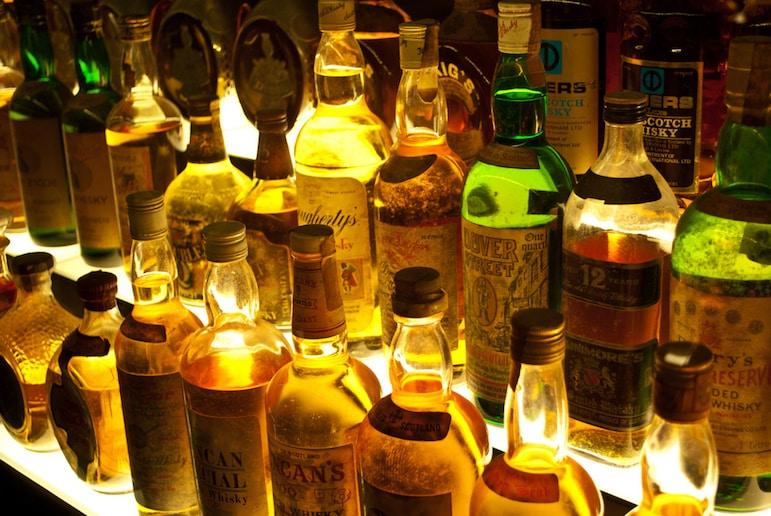 Claive Vidiz whisky collection