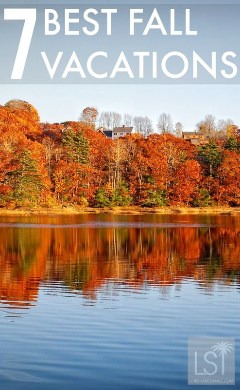 Seven of the best fall vacations - autumn destinations to fall in love with