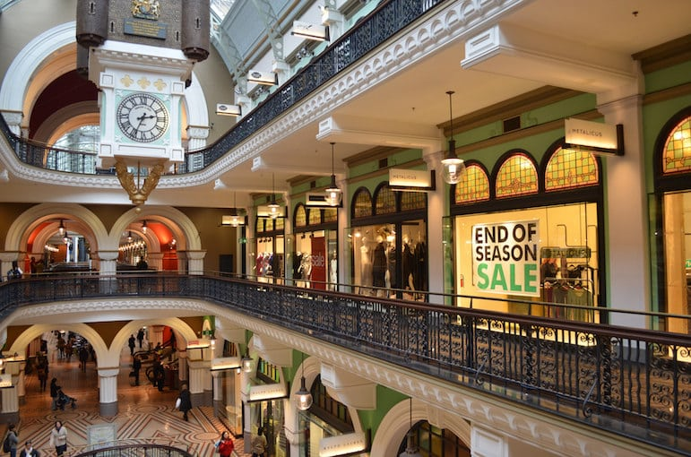 Sydney's Queen Victoria Building is where old meets new with historic surrounds converging with designer brands | Pic eGuide Travel