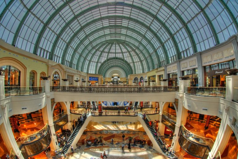 Shopping in Dubai is world-class | Pic: Peter Gronemann