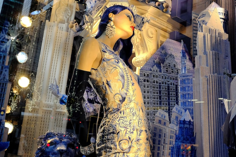 New York travel tips - the magical displays of Fifth Avenue stores are an attraction in themselves | Pic Steven Pisano